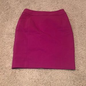 H&M Hot Pink Pencil Skirt